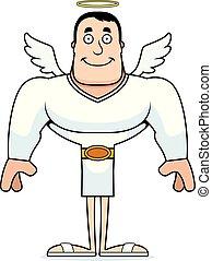 Cartoon Smiling Angel