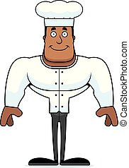 Cartoon Smiling Chef