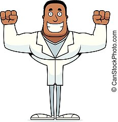 Cartoon Smiling Doctor