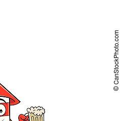 Cartoon Smiling Firecracker Holding A Beer.
