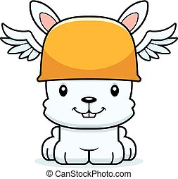 Cartoon Smiling Hermes Bunny