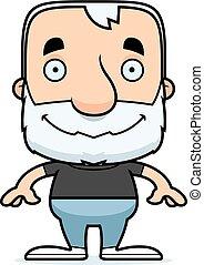Cartoon Smiling Man
