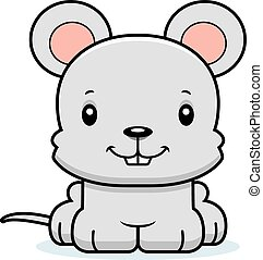 Cartoon Smiling Mouse