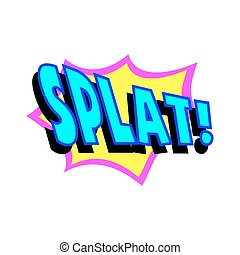 Cartoon Splat Sound