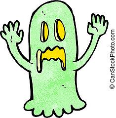 cartoon spooky ghost