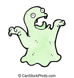cartoon spooky ghost
