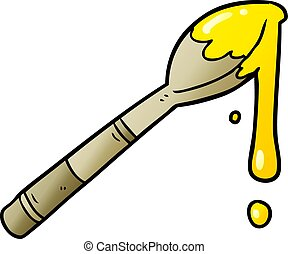 cartoon spoonful of honey