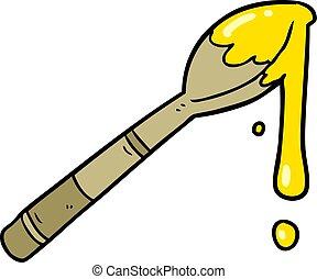 cartoon spoonful of honey
