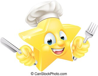 Cartoon Star Chef