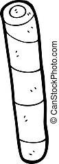 cartoon stick of rock