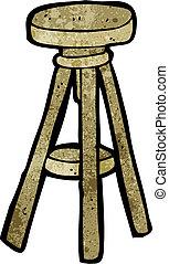 cartoon stool