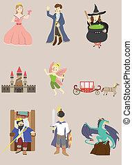 cartoon story icon  - cartoon story icon