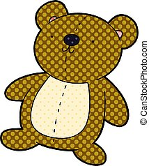 cartoon stuffed toy bear
