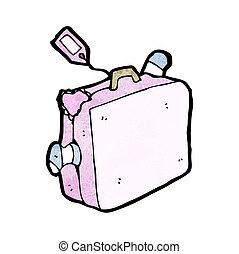 cartoon suitcase