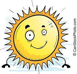 Cartoon Sun Smiling