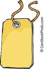 Cartoon tag
