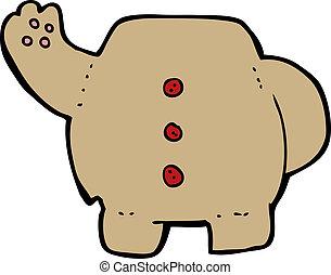 cartoon teddy bear body (mix and match cartoons or add own photos)