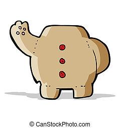 cartoon teddy bear body (mix and match cartoons or add own photo