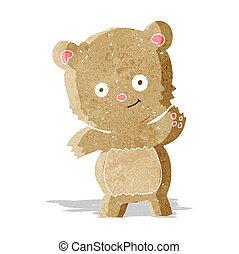 cartoon teddy bear