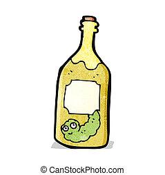 cartoon tequila
