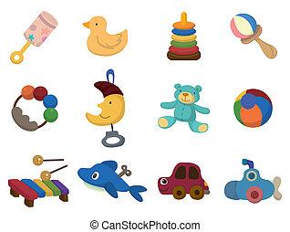 cartoon toy icon