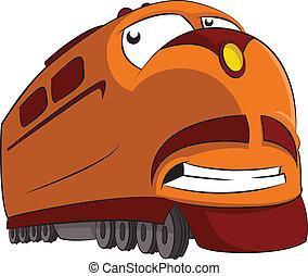 Cartoon Train