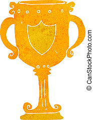 cartoon trophy