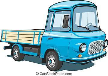 Cartoon truck
