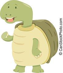 cartoon turtle animal character