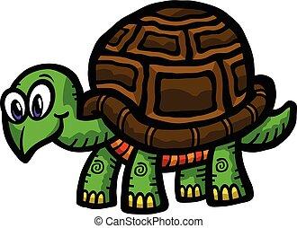 Cartoon Turtle