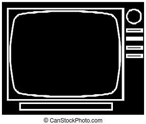 cartoon tv icon