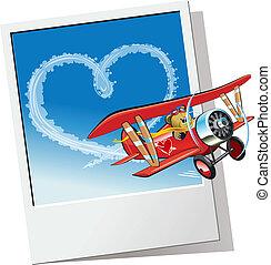 Cartoon Valentines Card