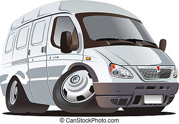 Cartoon van