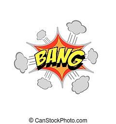 Cartoon Vector Bang Sound