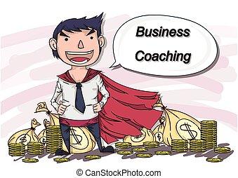 cartoon vector business man