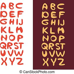 Cartoon Vector Font