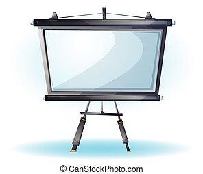 cartoon vector illustration interior office slide object