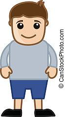 Cartoon Vector Man