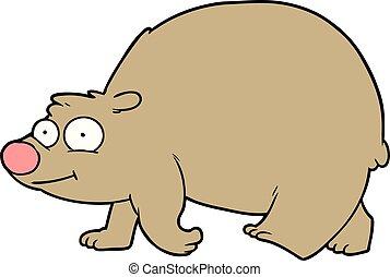 Walking bear Clipart and Stock Illustrations. 3,033 ... Walking Bear Drawing
