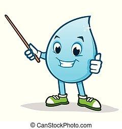Cartoon Water
