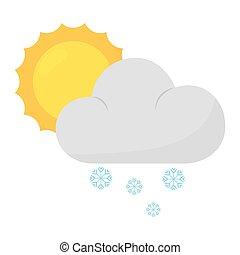 Cartoon weather icon