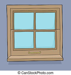 Cartoon Window