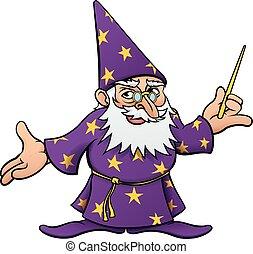 Cartoon Wizard