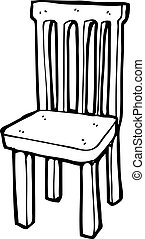 Wooden chair Vector Clip Art EPS Images 5580 Wooden chair