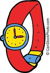 cartoon wrist watch