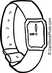 cartoon wrist watch