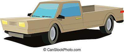 cartoon-yellow-car