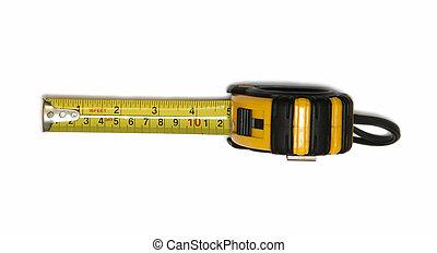 cartridges meters - yellow cartridges meters on white...