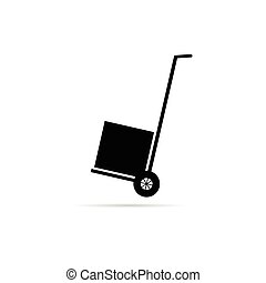carts for delivery of goods vector