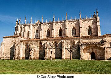 Cartuja de Miraflores monastery, Burgos, Castilla y Leon,...